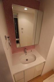プライムアーバン武蔵小杉comodo 407号室の洗面所