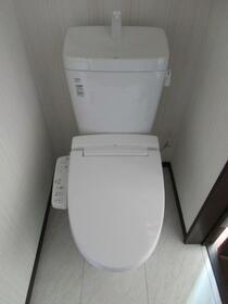 テラス京成高砂 204号室のトイレ