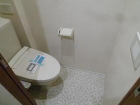 サントリーニ目黒 102号室のトイレ