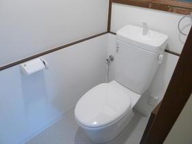 益子貸家のトイレ