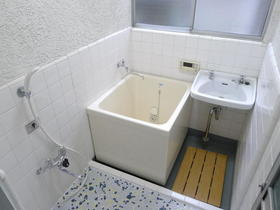益子貸家の風呂