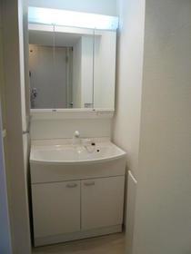 ISOフラット 102号室の洗面所