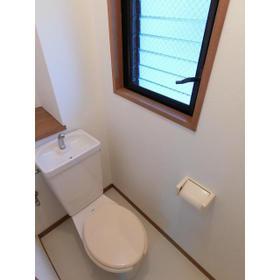 パークハイム深沢 302号室のトイレ