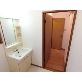 パークハイム深沢 302号室の洗面所