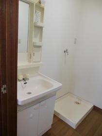 カトレアハイツ 203号室の洗面所