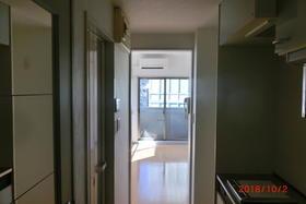 ロワール島津山南 502号室の玄関