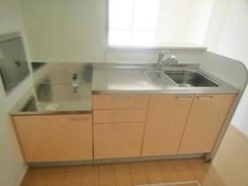 サンファースト A 103号室のキッチン