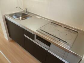 グランツ A 105号室のキッチン