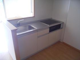 ファミール 光 101号室のキッチン