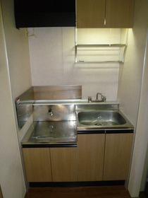 ファミール K 103号室のキッチン