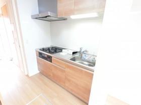 マロニエジャルダン B 106号室のキッチン