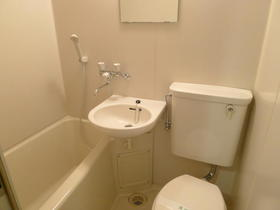オオカワコート 202号室の風呂