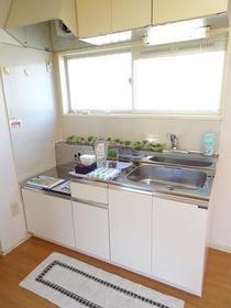 エムハイツ鈴谷III 101号室のキッチン