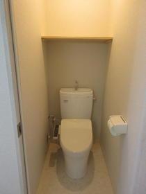 パール上野毛 202号室のトイレ