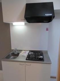 パール上野毛 202号室のキッチン