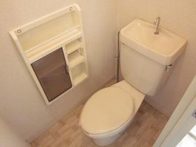 パークサイド駒沢A 202号室のトイレ