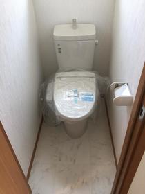 田園調布リーウェイ 202号室のトイレ