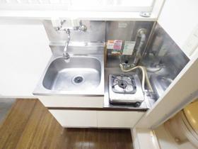 メゾン・ド・ルクール 101号室のキッチン