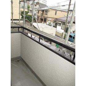 Studio Fujita 0201号室のバルコニー
