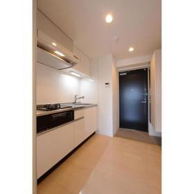 ベルフェリーク上野毛 0306号室のキッチン