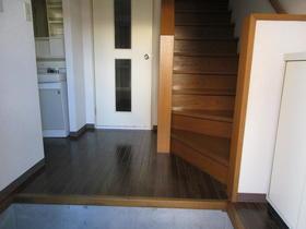 オオマデンハイツ B102号室の玄関