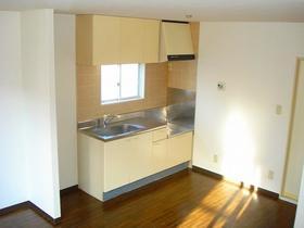 オオマデンハイツ B102号室のキッチン