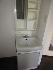 オオマデンハイツ B102号室の洗面所