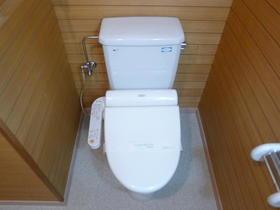 ヴィラ目黒本町 203号室のトイレ