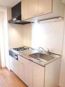 グランヴァン武蔵小山Ⅱ 504号室のキッチン