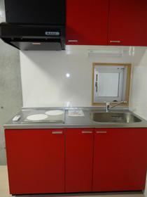 クーヴェラ三宿 201号室のキッチン