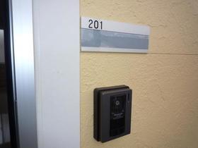 ユナイト東門前ジュリアン 201号室のエントランス