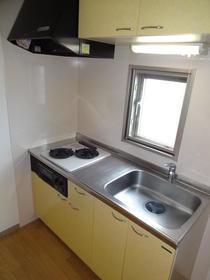 ハーヴェスト 401号室のキッチン