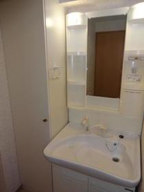 ハーヴェスト 401号室の洗面所