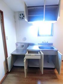 フラット14 501号室のキッチン