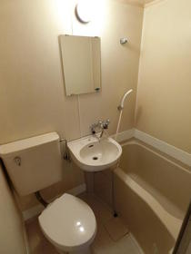 フラット14 501号室の風呂
