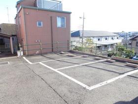 ラトゥール諏訪坂 205号室の駐車場
