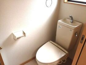 スターパレス21 203号室のトイレ