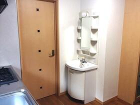 スターパレス21 203号室の洗面所