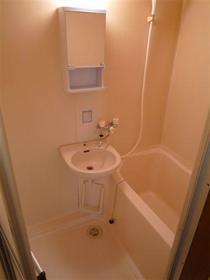 カメリアハウス 2-A号室の風呂