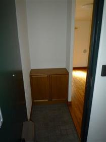 カメリアハウス 2-A号室の玄関