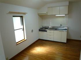 カメリアハウス 2-A号室のキッチン