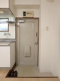 チェリーハイツ 202号室の玄関