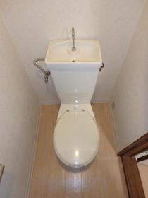 チェリーハイツ 202号室のトイレ