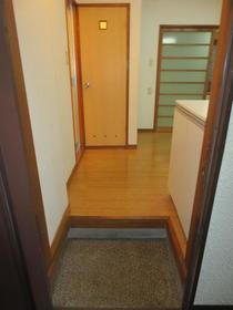 アイムホーム 101号室の玄関