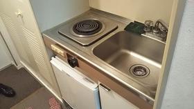 風間マンション 203号室のキッチン