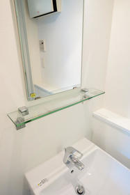 エクサム自由が丘 201号室の洗面所