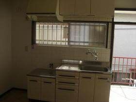 ひかりハイツ 203号室のキッチン