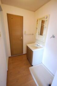 セジュール箕郷A棟 0202号室の洗面所
