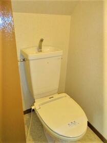 コーポ小林 2F号室のトイレ
