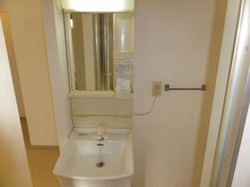 サンビレッジナガシマ B棟 201号室の洗面所